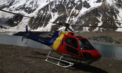 Muktinath & Kagbhusundi Sarovar (Tilicho Lake) Yatra by Helicopter
