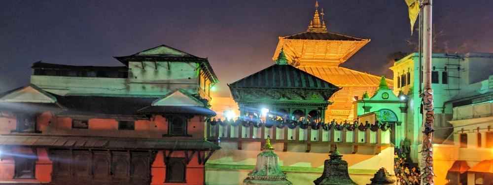 Pashupatinath during Evening time